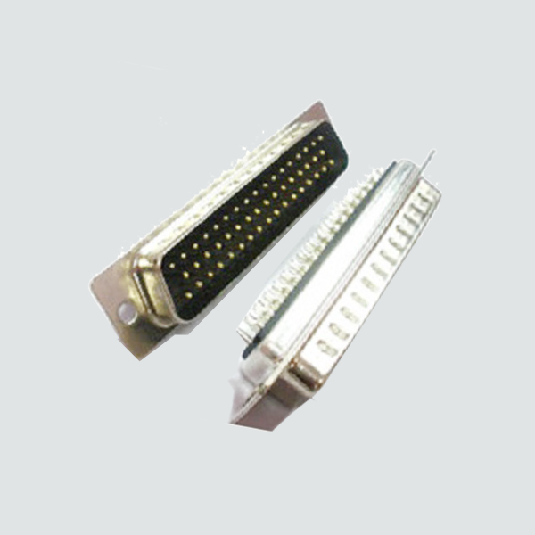 D-SUB 50pin Male Dual Row solder  Type(Stamed PIN)