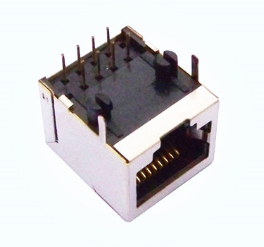 RJ45 JACK 10P8C WITH SHIELDED Model